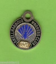 #D69.  1969-1970  SHELLHARBOUR  WORKERS  CLUB  MEMBER  BADGE #3656