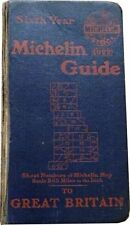 THE MICHELIN GUIDE TO GREAT BRITAIN 1922 - LIVRE D'OCCASION