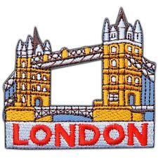 London Tower Bridge England United Kingdom UK City Travel Iron-On Patches #0758