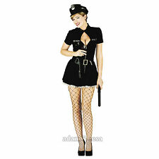 Womens Costume Fancy Dress Sexy School Girl Army Nurse Sizes S M L