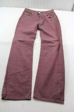 J1091 Levi´s 451 8787 Jeans W30 L30 Weinrot  Sehr gut