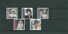 Gibraltar 2001 75th Birthday of Queen Elizabeth II SG972-76, mnh