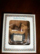 Boyds 'Basketbearies' #24706 'Sweetie..Promise Me Anything, But Give Me...' NIB!