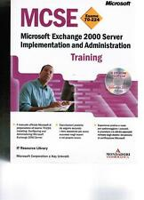 MCSE Esame 70 224 Microsoft Exchange 2000 Server Implementation Traini Mondadori