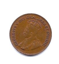 1925 Canada  Cent--KEY DATE--Full Crown !!