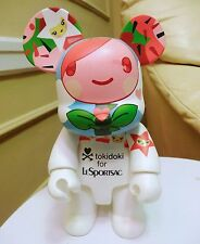 BIG (9 in) Qee Bear Tokidoki for Le Sportsac SIGNED Simone Legno. Very Rare!