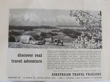 1968 Airstream Travel Trailers Original Advertisement, Vintage Print Ad