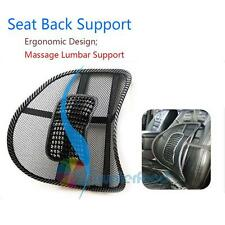 Office/Home/Car Seat Massage Support Cushion Pad Cozy Mesh Fabric Back Lumber