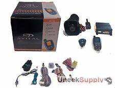 Avital 5305L 2-Way Car Alarm W/ Security 2 Remotes 1 YR Warranty Replaces 5303L