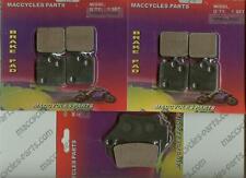 KTM Disc Brake Pads SMC-R 690 2008-2014 Front & Rear (3 sets)