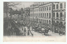 King And Queen En Route Holyrood Edinburgh 21 May 1903 Haxton Post Office Cupar