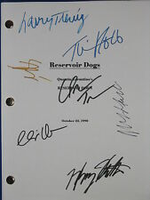Reservoir Dogs Signed Script X7 Quentin Tarantino Keitel Roth Madsen reprint