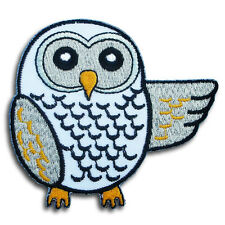 Owl Bird  Animal Wildlife Embroidered Patch Iron on Applique Kids Pretty Cute