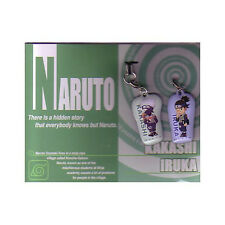 Naruto Kakashi, Iruka Screen Wiper Phone Strap Set NEW