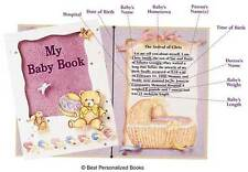 My Baby Book  © Best   (Personalized Baby Book), FAST SHIPPING! GREAT KEEPSAKE