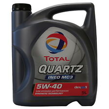 Total Quartz Ineo MC3 5W-40 5 Liter Kanne