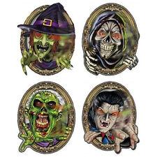 Halloween ojos en movimiento Espejo Ghouls-Diseños Surtidos (2 enviado al azar)