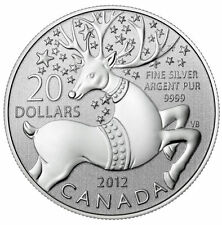 2012 $20 for $20 Magical Reindeer Coin Commemorative Pure Silver Coin FREE SHIP