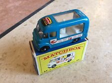 MATCHBOX REGULAR WHEEL No 47b NEILSON COMMER ICE CREAM VAN , BOXED