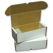(50) 500 Count BCW  Cardboard Trading Card Boxes - BRAND NEW