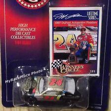 #24 Jeff Gordon 1/64 NASCAR Diecast Car 1997 DAYTONA CLASH CHROMA PREMIER LTS #2