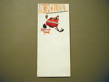1972 Vintage Bolens Snowmobile Foldout Pocket Brochure