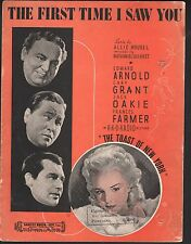 The First Time I Saw You 1937 The Toast of New York Cary Grant Frances Farmer