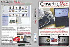 Embrilliance CONVERT IT MAC Embroidery Editing Thumbnailer Software for Apple