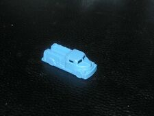 Vintage MIniature Empire Fire Truck in Light Blue Plastic - 1950s