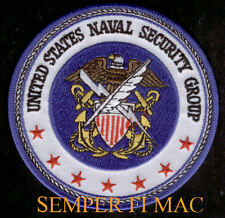 US NAVY SECURITY GROUP NAVSECGRU PATCH USS USN VETERAN PIN UP GIFT EAGLE WOW