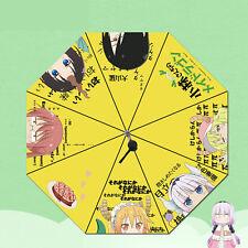 Kobayashi-san Chi no Maid Dragon Kanna Anime Rain Sun Travel Folding Umbrella