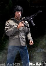 1/6 Rambo Army Clothing Suits Soldier Male Costume F 12'' Figure Body