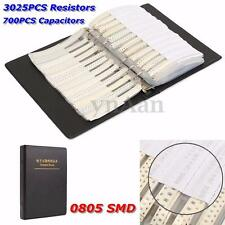3725Pc 0805 SMD 5% Resistor & Capacitor Electronic Sample Book Full Version Kit