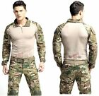 Tactical Clothing BDU Airsoft Combat Hunting Uniform MultiCam Set-Jacket Pant