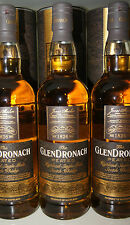 NEU ! GLENDRONACH PEATED 46% matured in oloroso & PX sherry casks 0.7L