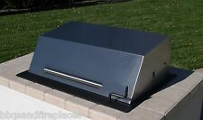 "EasyChef Charcoal Counter Top Grill 30"" - w/ Black Hood (Island not Included)"