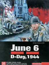 June 6 D-Day, 1944, Wargame, Used, by GMT Games, English Edition