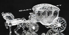 1  CINDERELLA COACH CARRIAGE WEDDING FAVORS TABLE DECORATIONS CLEAR CAKE TOPPER