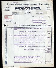 """COSNE-sur-LOIRE (58) ENREGISTREUSES & FORMULAIRES """"PRIMUS / ROTATICKETS"""" en 1957"""