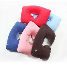 Top Sale Inflatable Soft Head Neck Rest Compact Air Cushion Pillow For Travel