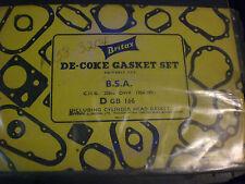 BSA 250cc De-Coke Head Gasket Kit, Britax