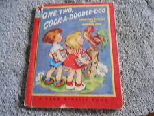 One, Two, Cock-A-Doodle-Doo 1961 Tip-Top Elf Book  -  Pease/Wosmek
