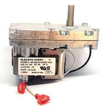 JAMESTOWN Pellet Auger FEED Motor #07EAA - 1 RPM CW - J1000, J2000, J3000 -SALE!