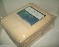 Home Classics Ivory Vellux Twin Blanket Brand New