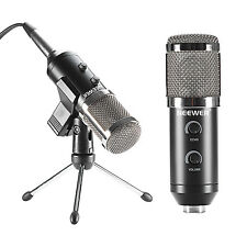 Neewer Black NW-300E USB Condenser Microphone with Desktop Tripod Stand