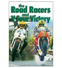 ROAD RACERS & V FOUR VICTORY DVD - SAVE 56% - Joey Dunlop - by Duke New