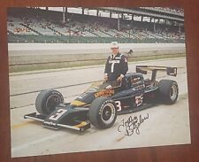 Tom Bigelow Signed Indy 500 Car 8x10 Photo Indianapolis Target Nascar Autograph