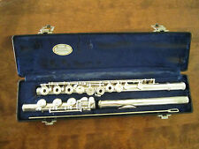 French Open Hole EMERSON EF8B Flute - .925 Solid Sterling Silver - None Better!