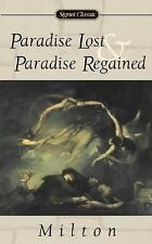 Paradise Lost and Paradise Regained (The Signet Classic Poetry Series)