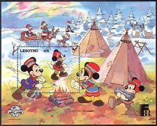 Lesotho 1988 Disney/Wigwam/Horse/Mickey Mouse/Cartoons/Animation m/s ref:b584
